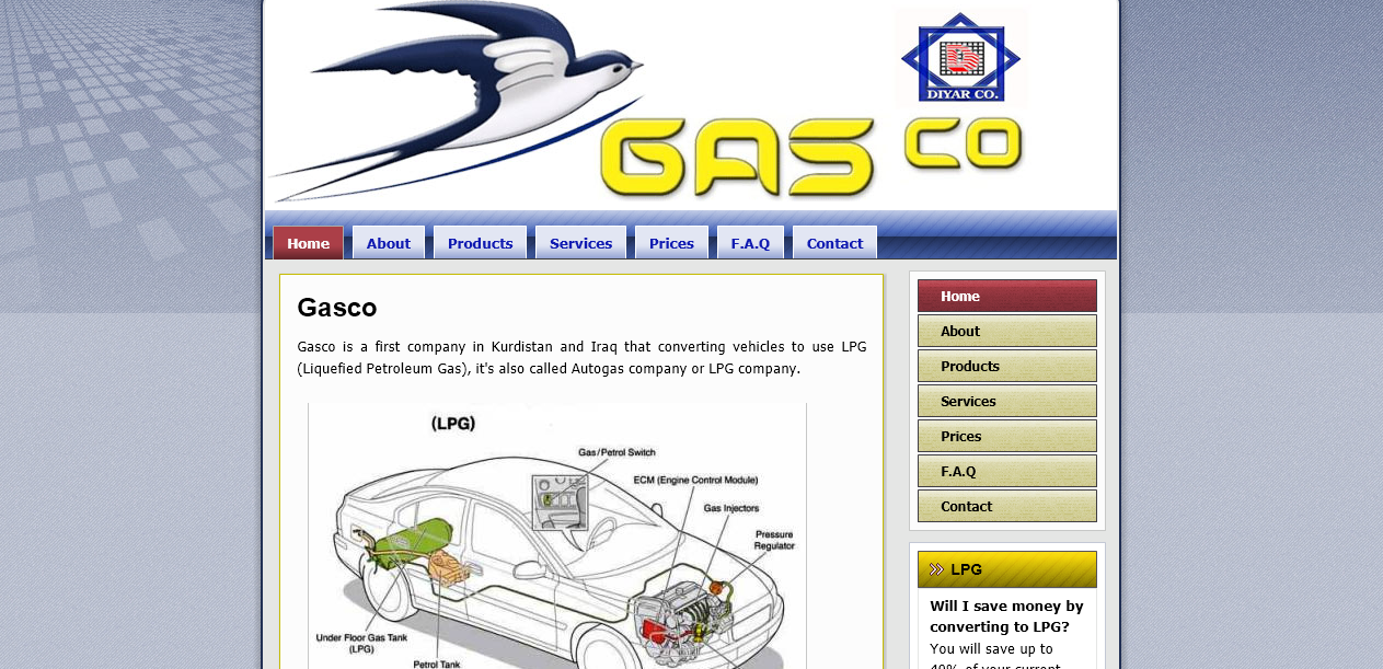 Diyargasco.com – Business Website