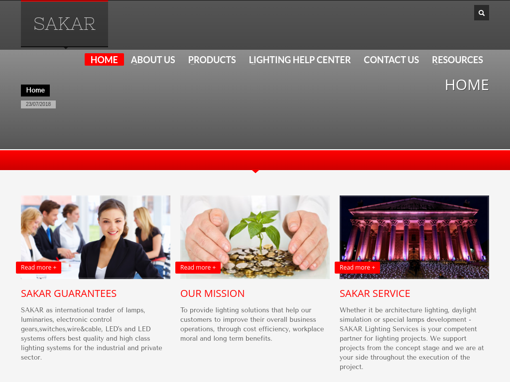 Sakar-group.com – Business Website