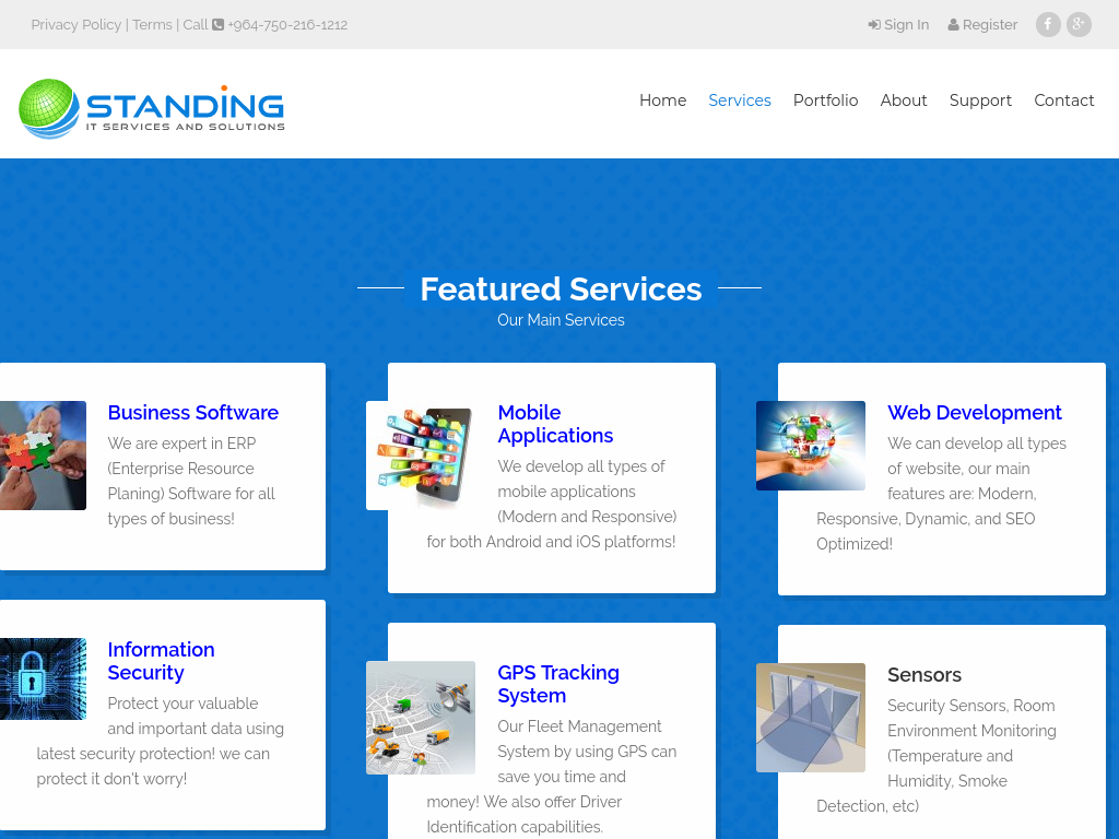 Standing Tech Company For Information Technology