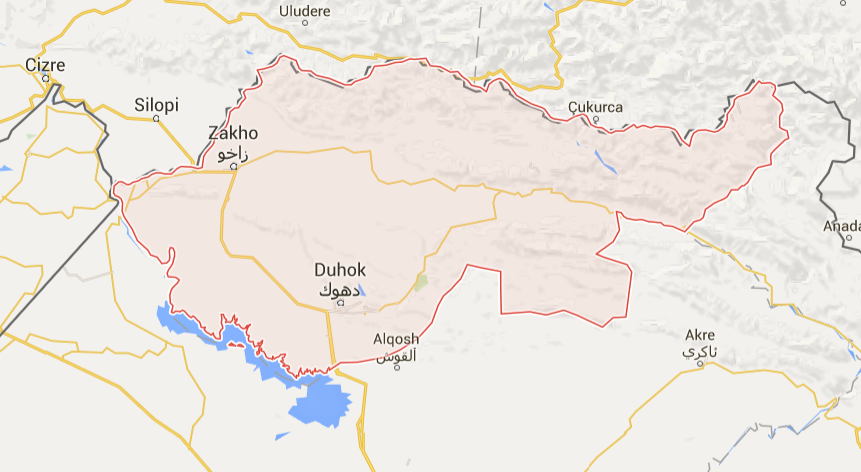 GPS in Dohuk Governorate