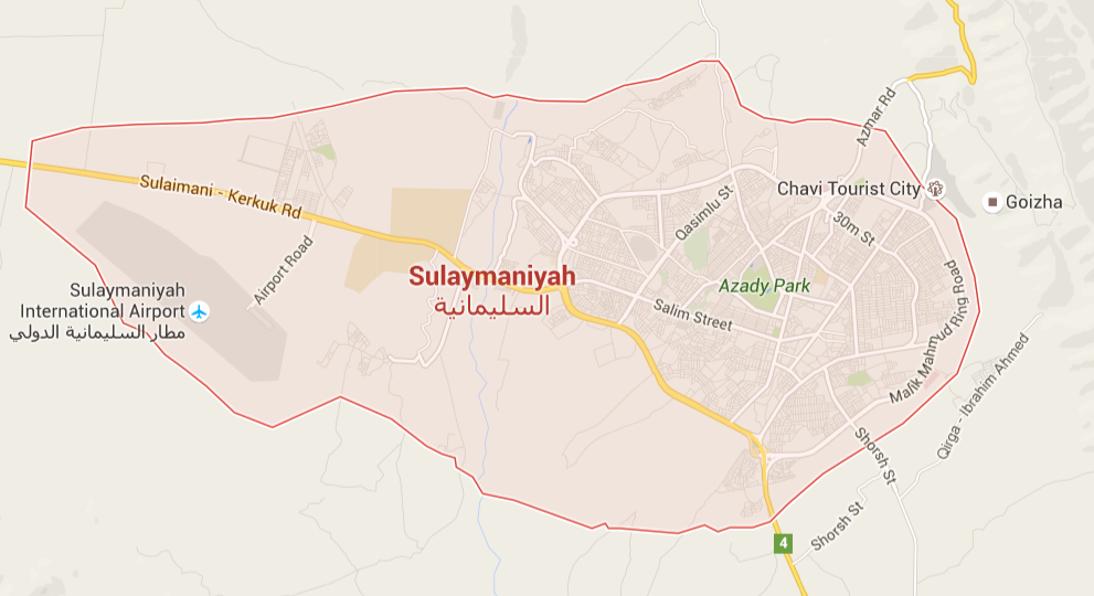 GPS Tracking Sulaymaniah
