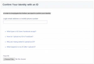 Confirm Your Identity with an ID