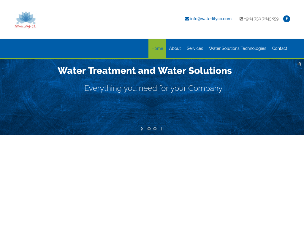 Waterlilyco.com – Professional Business Website