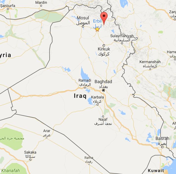 GPS in Kurdistan