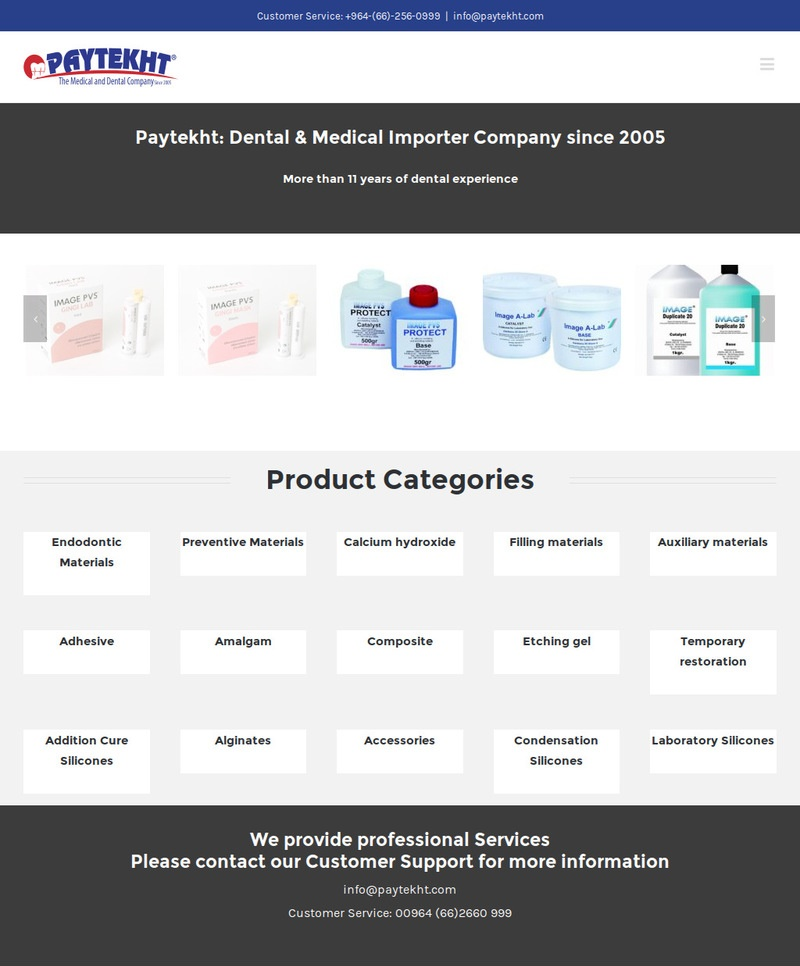 Paytekht.com – Medical and Dental Company