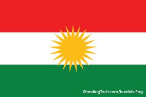 Standard Kurdish flag